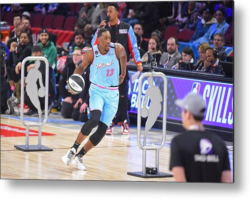 Nba Pro Basketball Metal Print featuring the photograph Bam Adebayo by Bill Baptist