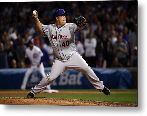 People Metal Print featuring the photograph Bartolo Colon by Jonathan Daniel