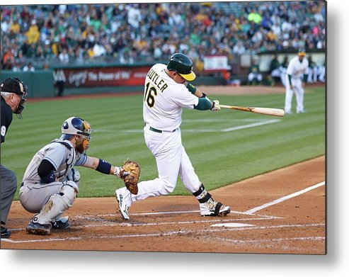 People Metal Print featuring the photograph Billy Butler by Jason O. Watson