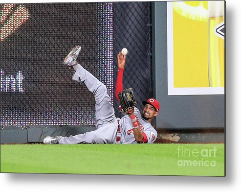 Ninth Inning Metal Print featuring the photograph Billy Hamilton by Brian Davidson