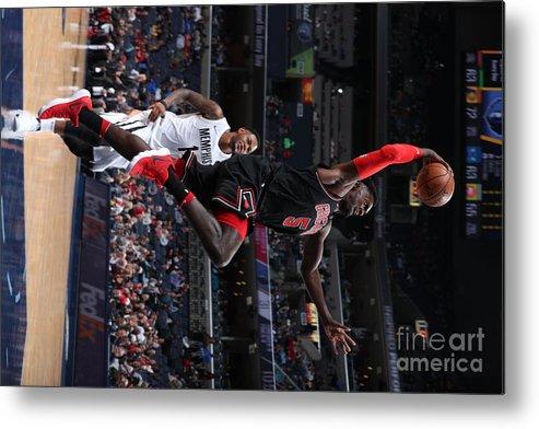 Nba Pro Basketball Metal Print featuring the photograph Bobby Portis by Joe Murphy