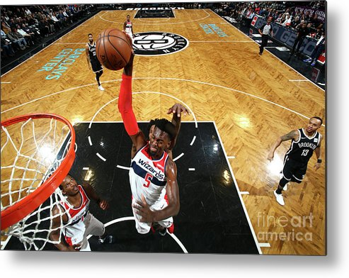 Nba Pro Basketball Metal Print featuring the photograph Bobby Portis by Nathaniel S. Butler