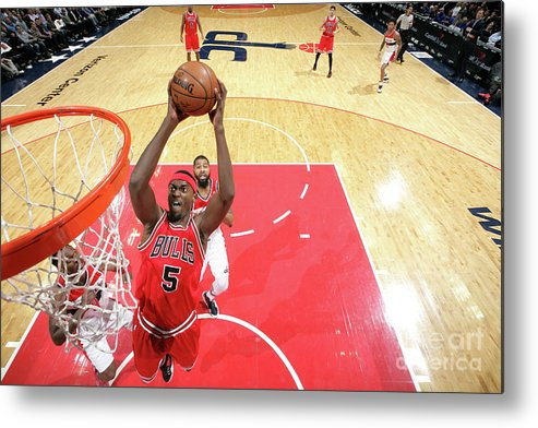 Nba Pro Basketball Metal Print featuring the photograph Bobby Portis by Ned Dishman