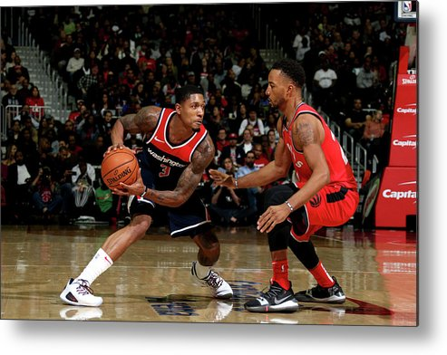 Nba Pro Basketball Metal Print featuring the photograph Bradley Beal by Stephen Gosling