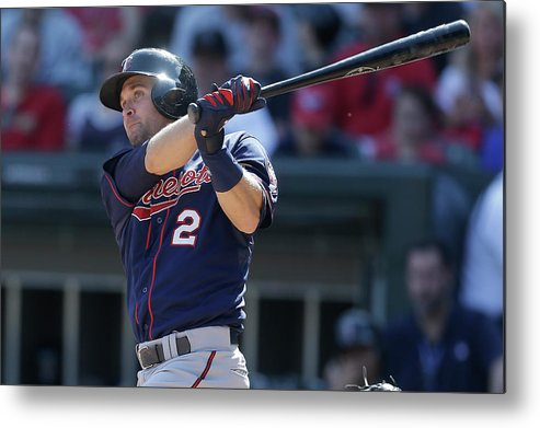People Metal Print featuring the photograph Brian Dozier by Mike Mcginnis