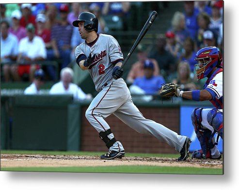 People Metal Print featuring the photograph Brian Dozier by Sarah Crabill