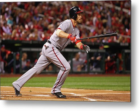 St. Louis Metal Print featuring the photograph Bryce Harper by Dilip Vishwanat
