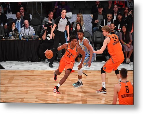 Event Metal Print featuring the photograph Buddy Hield by Jesse D. Garrabrant
