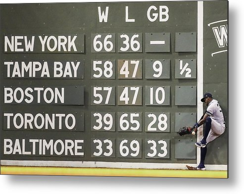 People Metal Print featuring the photograph Cameron Maybin by Adam Glanzman