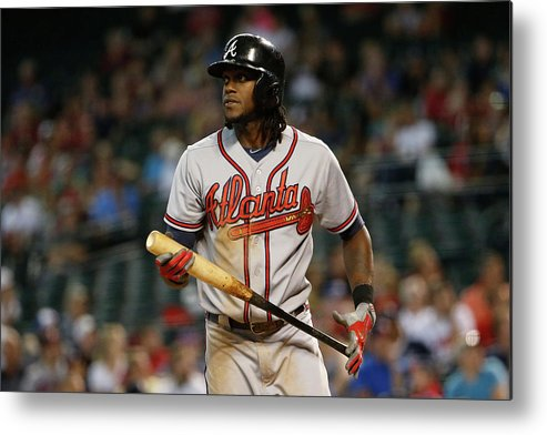 Three Quarter Length Metal Print featuring the photograph Cameron Maybin by Christian Petersen