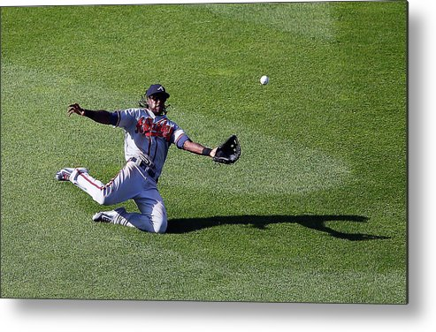 People Metal Print featuring the photograph Cameron Maybin by Jim Mcisaac