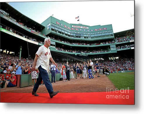 People Metal Print featuring the photograph Carl Yastrzemski by Maddie Meyer