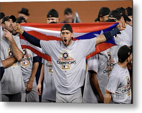 People Metal Print featuring the photograph Carlos Correa by Kevork Djansezian