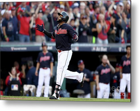 Game Two Metal Print featuring the photograph Carlos Santana by Elsa