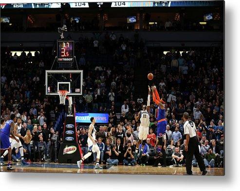 Nba Pro Basketball Metal Print featuring the photograph Carmelo Anthony by Jordan Johnson