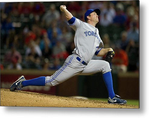 Ninth Inning Metal Print featuring the photograph Casey Janssen by Cooper Neill