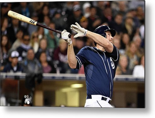 California Metal Print featuring the photograph Chase Headley by Denis Poroy
