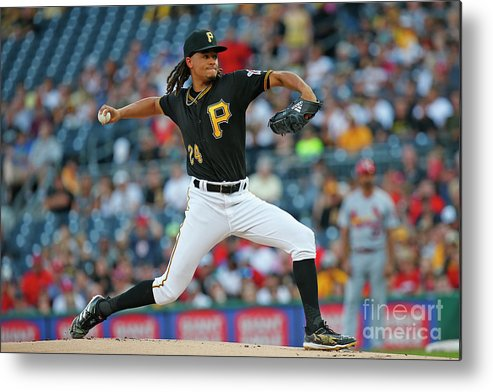People Metal Print featuring the photograph Chris Archer by Justin K. Aller