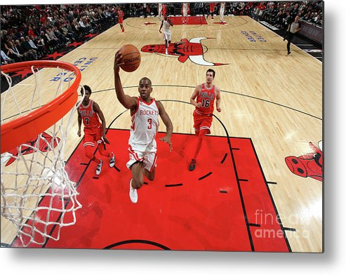 Nba Pro Basketball Metal Print featuring the photograph Chris Paul by Gary Dineen