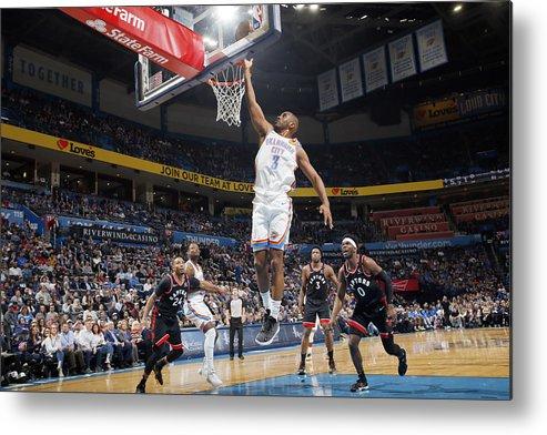 Nba Pro Basketball Metal Print featuring the photograph Chris Paul by Jeff Haynes