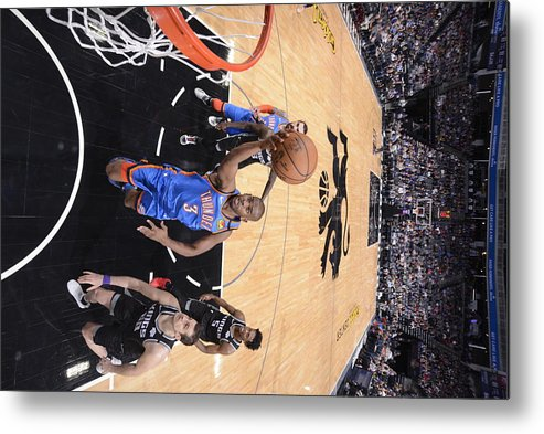 Nba Pro Basketball Metal Print featuring the photograph Chris Paul by Rocky Widner