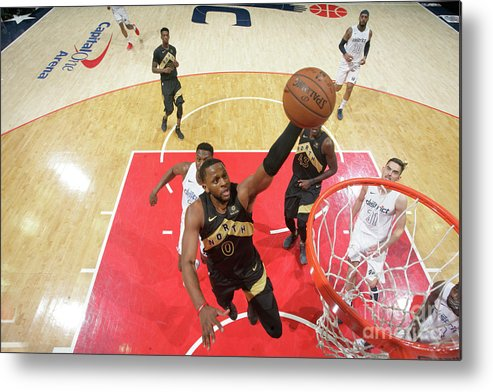 Playoffs Metal Print featuring the photograph C.j. Miles by Ned Dishman