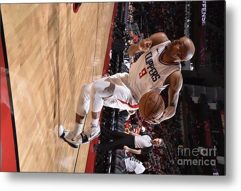 Nba Pro Basketball Metal Print featuring the photograph C.j. Williams by Bill Baptist