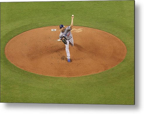 People Metal Print featuring the photograph Clayton Kershaw by Rob Foldy