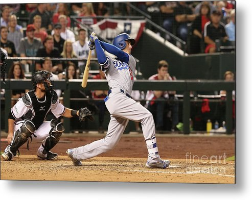 People Metal Print featuring the photograph Cody Bellinger by Christian Petersen