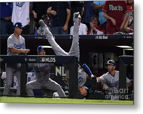 People Metal Print featuring the photograph Cody Bellinger by Norm Hall