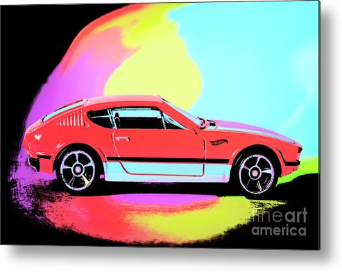 Pop Art Metal Print featuring the photograph Color Runs by Jorgo Photography - Wall Art Gallery