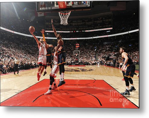 Playoffs Metal Print featuring the photograph Cory Joseph by Ron Turenne