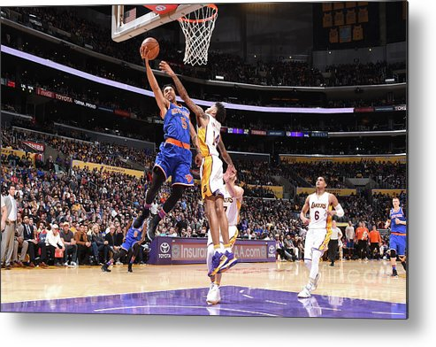 Nba Pro Basketball Metal Print featuring the photograph Courtney Lee by Andrew D. Bernstein