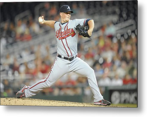 Ninth Inning Metal Print featuring the photograph Craig Kimbrel by Mitchell Layton