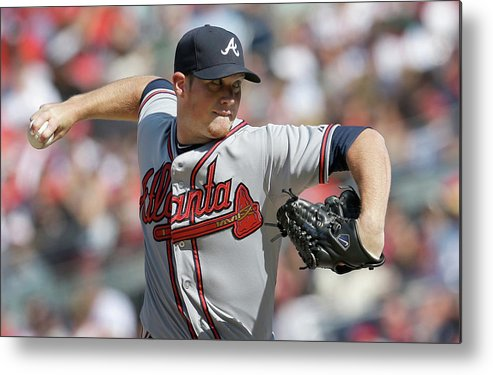Ninth Inning Metal Print featuring the photograph Craig Kimbrel by Rob Carr