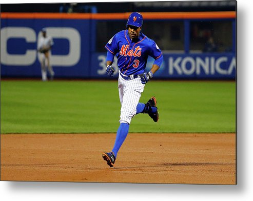 People Metal Print featuring the photograph Curtis Granderson by Al Bello