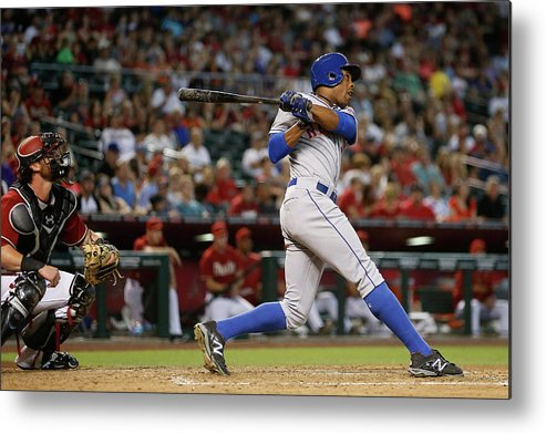 People Metal Print featuring the photograph Curtis Granderson by Christian Petersen
