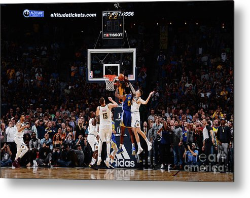 Nba Pro Basketball Metal Print featuring the photograph Damian Jones by Bart Young