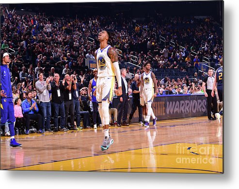 San Francisco Metal Print featuring the photograph D'angelo Russell by Noah Graham