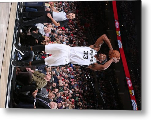 Nba Pro Basketball Metal Print featuring the photograph Dante Cunningham by Sam Forencich