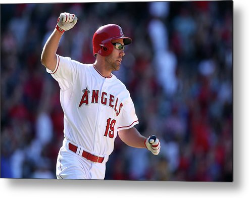 Three Quarter Length Metal Print featuring the photograph David Murphy by Stephen Dunn