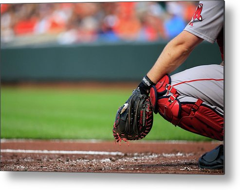 Working Metal Print featuring the photograph David Ross by Rob Carr