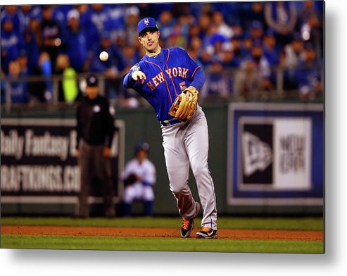 Second Inning Metal Print featuring the photograph David Wright by Jamie Squire