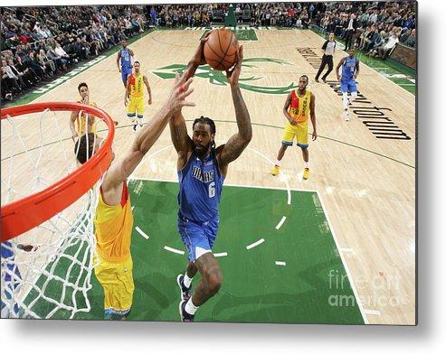 Nba Pro Basketball Metal Print featuring the photograph Deandre Jordan by Gary Dineen