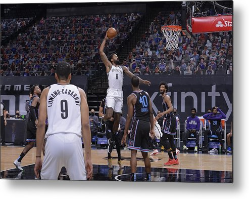 Nba Pro Basketball Metal Print featuring the photograph Deandre Jordan by Rocky Widner