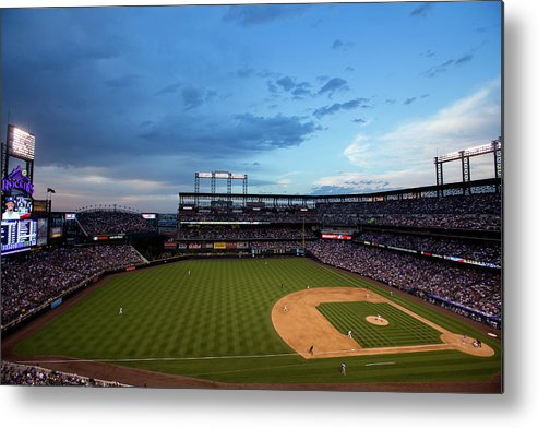 Relief Pitcher Metal Print featuring the photograph Dee Gordon and Tommy Kahnle by Justin Edmonds