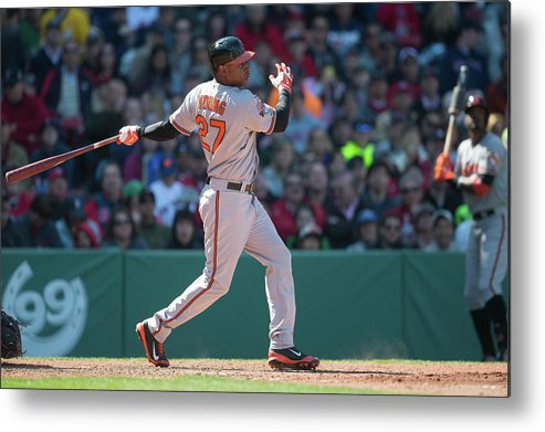 East Metal Print featuring the photograph Delmon Young by Rob Tringali