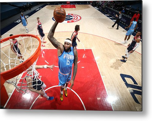 Nba Pro Basketball Metal Print featuring the photograph Demarcus Cousins by Ned Dishman