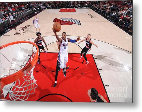 Nba Pro Basketball Metal Print featuring the photograph Demetrius Jackson by Sam Forencich