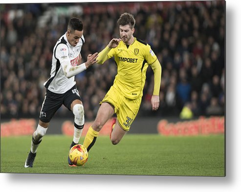England Metal Print featuring the photograph Derby County v Burton Albion - Sky Bet Championship by Nathan Stirk